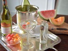 Melon Spritzer Cocktail Recipe