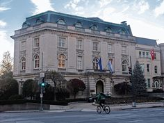Embassy of the Grand Duchy of Luxembourg in Washington, DC (Its embassy is almost bigger than the country.)