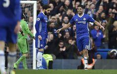 Cesc Fàbregas & Diego Costa: Chelsea 3-1 Arsenal, 4 Feb 17