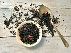 Pomegranate Rosehip Black Tea by ArtfulTea - 4 oz. tin of luxury loose leaf tea $12.00