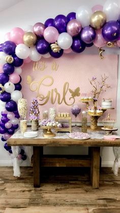 Butterfly Baby Shower Ideas-Butterfly Baby shower-Butterfly-Its a girl-www.SugarPartiesLA.com