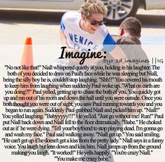 Niall Horan Imagines <3 lol the picture in the background