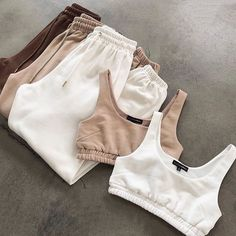 Cute Lazy Outfits, Sporty Outfits, Teen Fashion Outfits, Look Fashion, Stylish Outfits, Summer Outfits, Fashion Tips, Athleisure Outfits, Girly Outfits