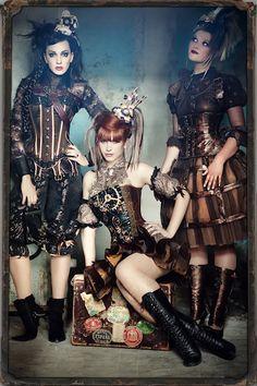 Beautiful steampunk outfits