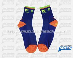 Socks designed by My Custom Socks for Team CoreCo in Miami, Florida. Cycling socks made with Coolmax fabric. #Cycling custom socks - free quote! ////// Calcetas diseñadas por My Custom Socks para Team CoreCo en Miami, Florida. Calcetas para Ciclismo hechas con tela Coolmax. #Ciclismo calcetas personalizadas - cotización gratis! www.mycustomsocks.com