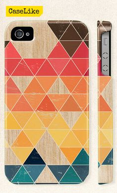 3D #iPhone 5 #Case  Colourful #Triangle #Geometric Pattern by #caselike, $22.00