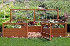 Amazon.com : Just Add Lumber Vegetable Garden Kit   8u0027x12u0027 Deluxe : Raised  Garden Kits : Patio, Lawn U0026 Garden | Landscaping | Pinterest | Vegetable  Garden, ...