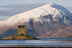 Castle Stalker, Scotland. Still owner occupied. Amazing.