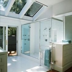 The skylights are amazing!