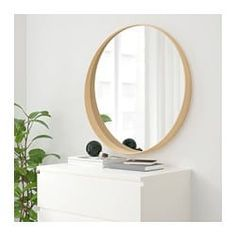 domino mag: Mid-Century Modern On a Budget: Ikea Stockholm Mirror Ikea Stockholm, Stockholm Mirror Ikea, Ikea Furniture, Furniture Making, Furniture Dolly, Furniture Movers, Furniture Stores, Office Furniture, Ikea Mirror