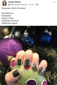 Simple design for Christmas! Manicure! #gelnails #gelmoment #christmasnails #christmasnailart #christmasnaildesigns #simplenailart #easychristmasnails #gelnaildesigns