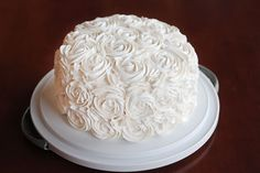 SUPER simple cake decorating trick!! Anyone can do this!! #cakedecorating