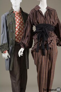 Two Pirate outfits by Vivienne Westwood / Malcolm McLaren c. 1981