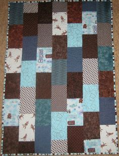 Baby Bricks Quilt - can adjust to any size quilt I need