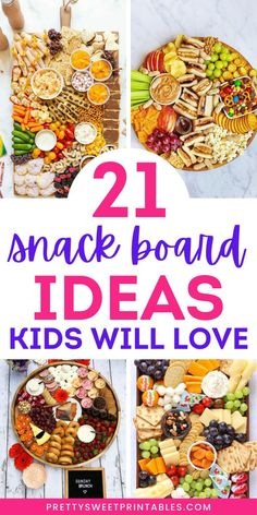 Camping Snacks, Lunch Snacks, Easy Snacks, Snack Platter, Party Food Platters, Charcuterie Recipes, Charcuterie Board, Best Party Food, Easy Kid Party Food