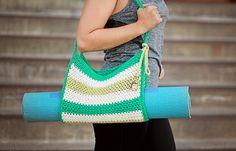 Ravelry: Stripes Yoga Bag pattern by Salena Baca