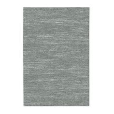 6'x9' Watercolor Solid Rug in Platinum, Special Order (10-18 Week Delivery), $399 | west elm
