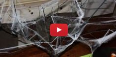 Video DIY: Kid- and Budget-Friendly Halloween Decorating Ideas and Centerpiece -- upcycle and repurpose everyday things to make fun (and cheap! Cheap Halloween Decorations, Diy Halloween, Smart Kitchen, Decorating On A Budget, Diy Videos, Repurpose, Branches, Spider, Cool Things To Buy