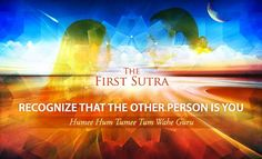 Recognize the Other Person is You: Mantra, Music, Meditation & Global Sadhana