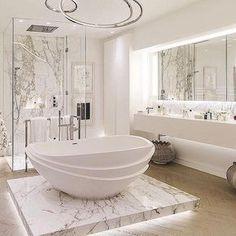 """Dream Bathroom @rodeoand5thhomes #luxury #home #design #decor #bathroom #rodeoand5th"""