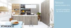 Kitchen Trends from EuroCuchina 2012 - New Social Kitchen in Modern Grey Oak Wood - Kitchen by Grando Keukens Design Home Decor Kitchen, Kitchen Interior, New Kitchen, Kitchen Dining, Beautiful Kitchens, Cool Kitchens, Kitchen Trends, Kitchen Ideas, Dining Room Design