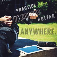 Practice Guitar Anywhere with jamstik+!  www.jamstik.com