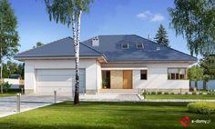 E-156 - E-DOMY.pl Projekty domów jednorodzinnych, piętrowych, energooszczędnych.