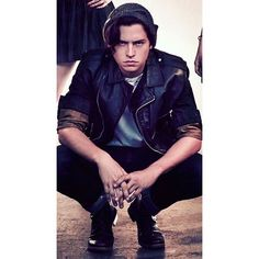 HQ of Cole in the new Riverdale promotional picture #colesprouse #riverdale