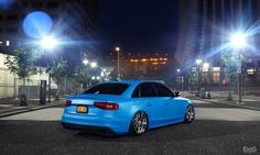 #HappyMonday! Ready for ShowBiz: #Lowered #Audi #S4
