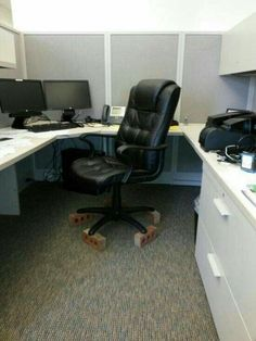 Coworker prank.. I love it..