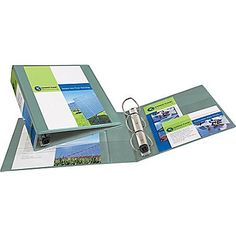 2in. Avery® Heavy-Duty View Binders with One Touch™ EZD® Rings, Sea Green
