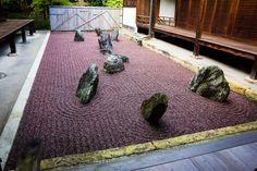 Reisen durch verschiedene Gärten: Ryoginan, subtemple of Tofukuji, Kyoto