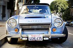 Datsun Roadster/Nissan Fairlady 2000. Looks great in blue, too.