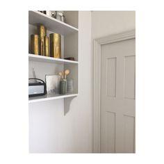 Hallway – Home Decor Designs Dark Front Door, Suffolk House, Little Greene Paint, Entry Hallway, Kitchen Colors, Room Paint, Colour Schemes, White Paints, New Homes