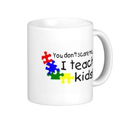 Start your day off right with a custom mug! Sip from one of our many Teacher coffee mugs, travel mugs and tea cups offered on Zazzle. New Teacher Gifts, New Teachers, White Coffee Mugs, I Am Scared, Classic White, Custom Mugs, Cool Gifts, Teaching Kids, Tea Cups