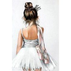 Art Ballet, Ballet Painting, Ballet Girls, Ballet Dancers, Ballet Drawings, Dancing Drawings, Drawings Of Ballerinas, Ballerina Kunst, Ballerina Drawing