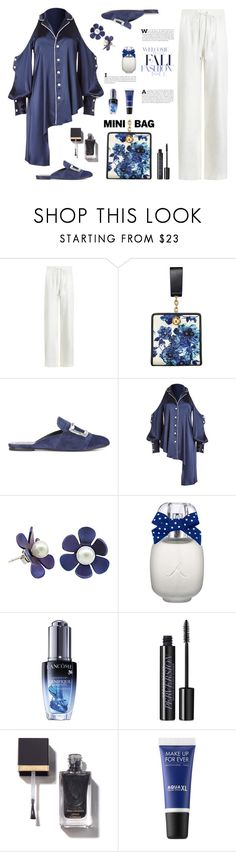 """""""I Don't Care What They Say, I Can Wear Pajamas In Public During The Day"""" by sharee64 ❤ liked on Polyvore featuring Zimmermann, Tory Burch, Jonathan Simkhai, Lancôme, Urban Decay and MAKE UP FOR EVER"""