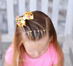 38 Back to School Easy Hairstyles for Girls Toddler Girl Hairstyles for School The post 38 Back to School Easy Hairstyles for Girls appeared first on School Diy. Easy Toddler Hairstyles, Easy Little Girl Hairstyles, Easy Hairstyles For Medium Hair, Cute Girls Hairstyles, Different Hairstyles, Hairstyles For School, Picture Day Hairstyles, Trendy Hairstyles, Long Haircuts