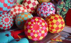 paper spheres DIY