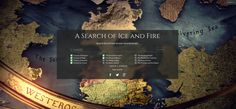 A Search of Ice and Fire allows users to find keywords from all the Song of Ice and Fire books, including the sample chapters from The Winds of Winter.