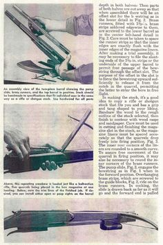 how to make a simple crossbow out of wood