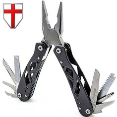 Mini Multitool with Knife and Pliers - Best Utility Multi Purpose Tool with All in One Tool Set - Everyday Universal Knife for Camping, Survival and Outdoor Activities - Grand Way 2236 ** Check this awesome product by going to the link at the image. (This is an affiliate link) #CampingHikingEquipment