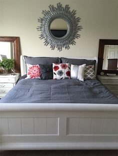 Clearance Sticker Bedroom Makeover: using BB Frosch Chalk Paint! Amazing!!