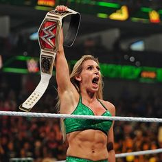 Charlotte Flair Instagram, Wwe Ppv, Charlotte Flair Wwe, Wwe Money, Wwe Girls, Money In The Bank, Raw Women's Champion, Wrestling Divas, Wwe Womens