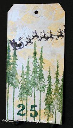 Art Tag:  Santa - Scrapbook.com