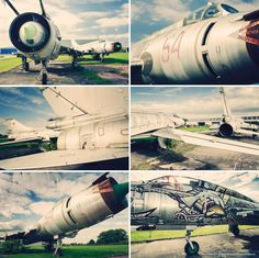 Collection of photographs of the Russian jets at Aviation Park near Chester