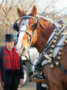 Wassail Weekend parade in Woodstock, Vermont