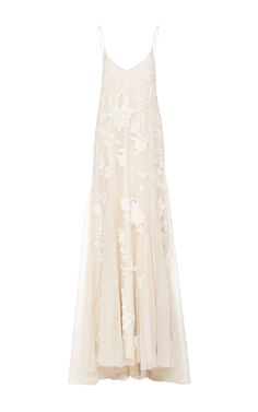 M'O Bridal & Wedding: Houghton ivory beatrix hand embroidered gown from our curated Wedding Reception trunkshow