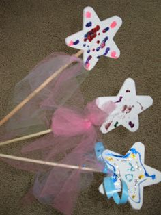 Make your own wands birthday party activities