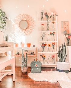 Cute Room Ideas, Cute Room Decor, Teen Room Decor, Room Ideas Bedroom, Bedroom Decor, Bedroom Inspo, Dream Bedroom, Mirror In Bedroom, Master Bathroom